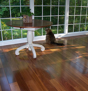 Brazilian Teak Floors