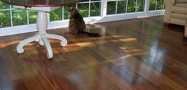 "<a href=""/products/flooring/brazilianteak/"">Brazilian Teak (Cumaru)</a> Even, moderate brown tones."